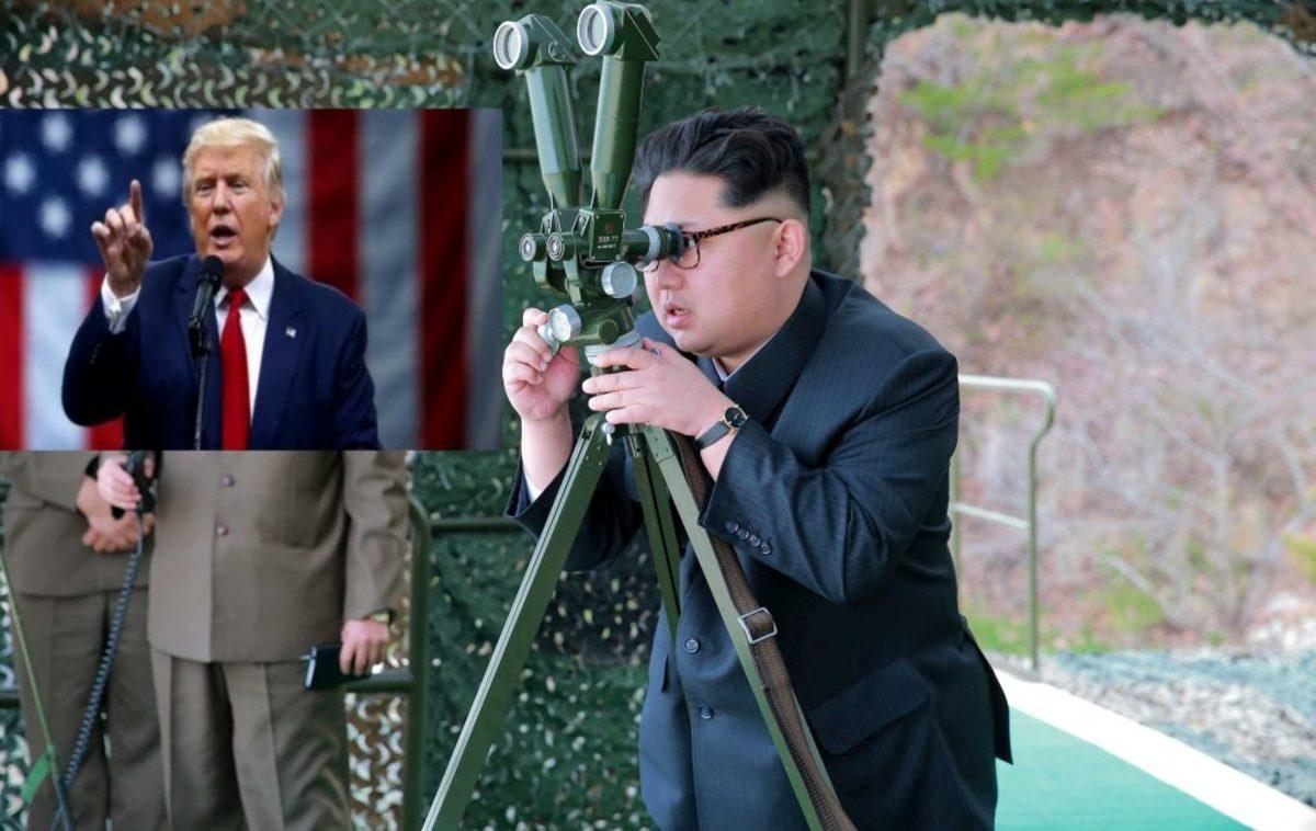 Βόρεια Κορέα Τραμπ