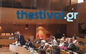Θεσσαλονίκη: Ένταση και διακοπή στο δημοτικό συμβούλιο [vid]