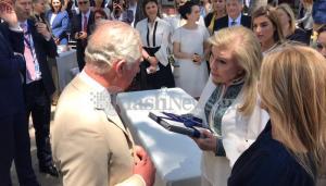 Πρίγκιπας Κάρολος: Το δώρο της Μαριάννας Βαρδινογιάννη στον διάδοχο του βρετανικού θρόνου [pics]