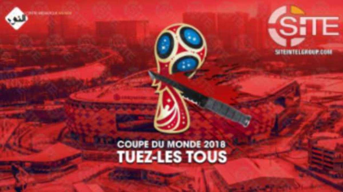 """Τρόμος! Νέο κάλεσμα θανάτου των Τζιχαντιστών για το Παγκόσμιο Πρωτάθλημα Ποδοσφαίρου – """"Σκοτώστε τους όλους"""""""