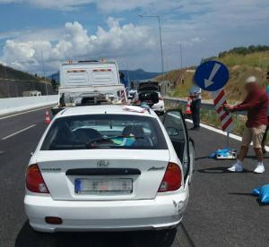 Φθιώτιδα: Νέο τροχαίο στην εθνική οδό με τραυματισμένο παιδί – Η μεγάλη ατυχία της οικογένειας [pics]