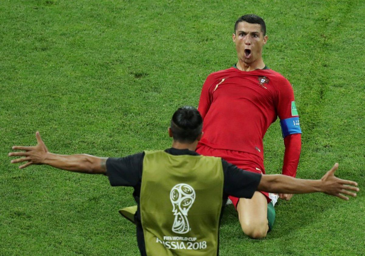 """Μουντιάλ 2018: Πορτογάλος """"Θεός""""! Σπάει τα ρεκόρ ο Κριστιάνο Ρονάλντο"""