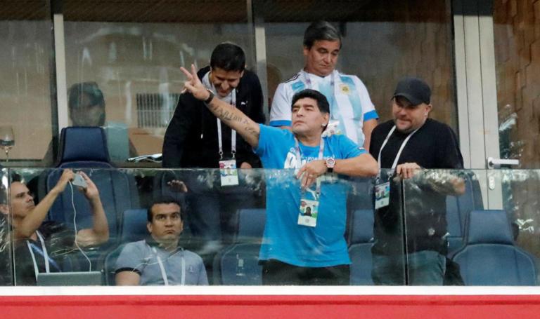 """Μουντιάλ 2018: """"Κατάντια"""" για Μαραντόνα! Σε άθλια κατάσταση μετά το ματς [vids, pics]"""