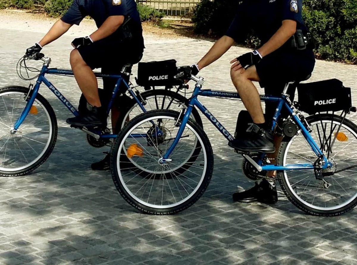 Κρήτη: Στους δρόμους οι αστυνομικοί ποδηλάτες