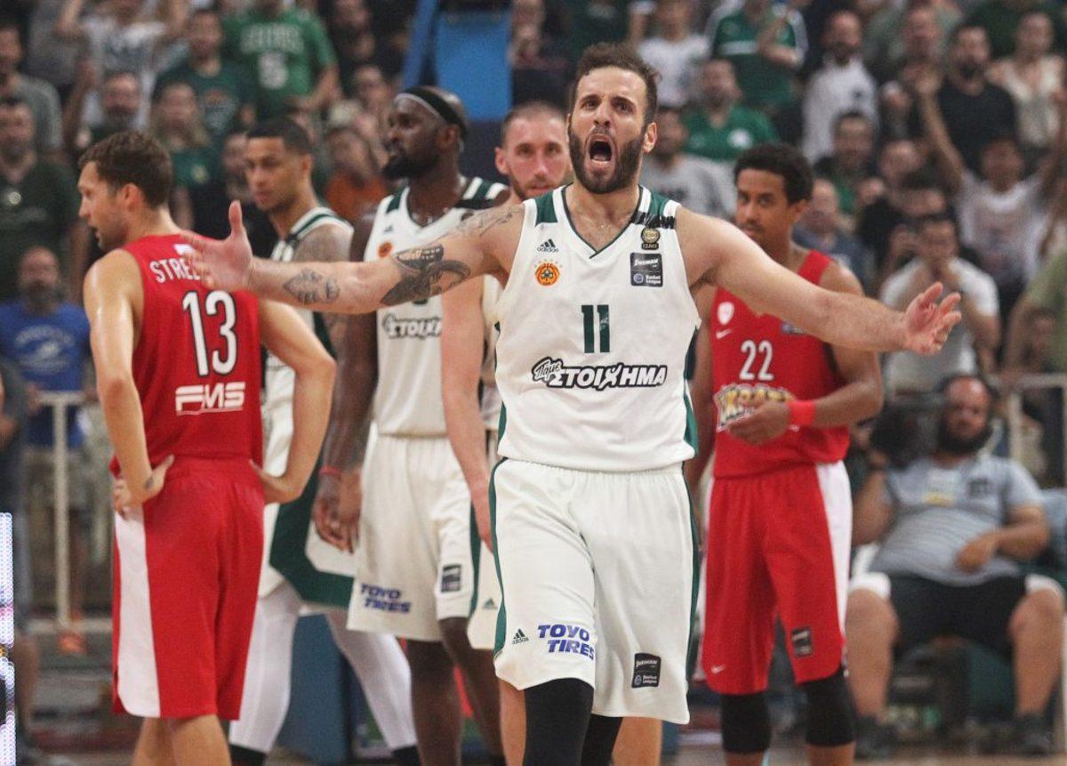 """Παναθηναϊκός – Ολυμπιακός: """"Πράσινος"""" θρόνος! Πρωτάθλημα για σένα Παύλο Γιαννακόπουλε"""