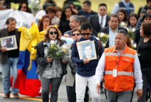 Σπαραγμός στις κηδείες των μελών της δημοσιογραφικής αποστολής που απήχθησαν και δολοφονήθηκαν από την οργάνωση FARC