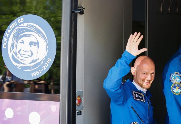 Δεύτερος Γερμανός στο Διάστημα – Ο αστρο-Άλεξ έτοιμος για… εκτόξευση! [pics]
