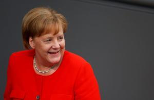 """Μέρκελ: """"Είμαι πολύ αισιόδοξη για λύση στο ελληνικό χρέος"""""""