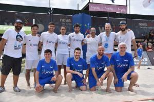 Νικοπολίδης και Παπαδόπουλος παίζουν footvolley στον Σχοινιά [vid]