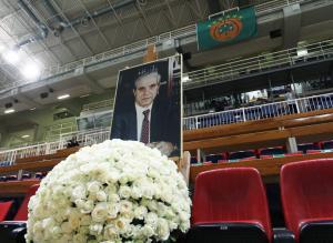 Παναθηναϊκός: Σε λαϊκό προσκύνημα η σορός του Παύλου Γιαννακόπουλου