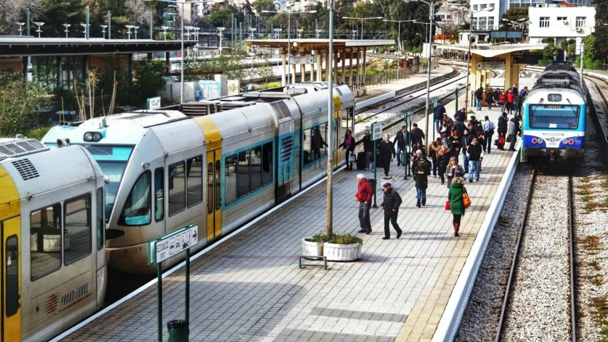 απεργία στασεις εργασίας μετρό προαστιακός τρένα ΟΣΕ