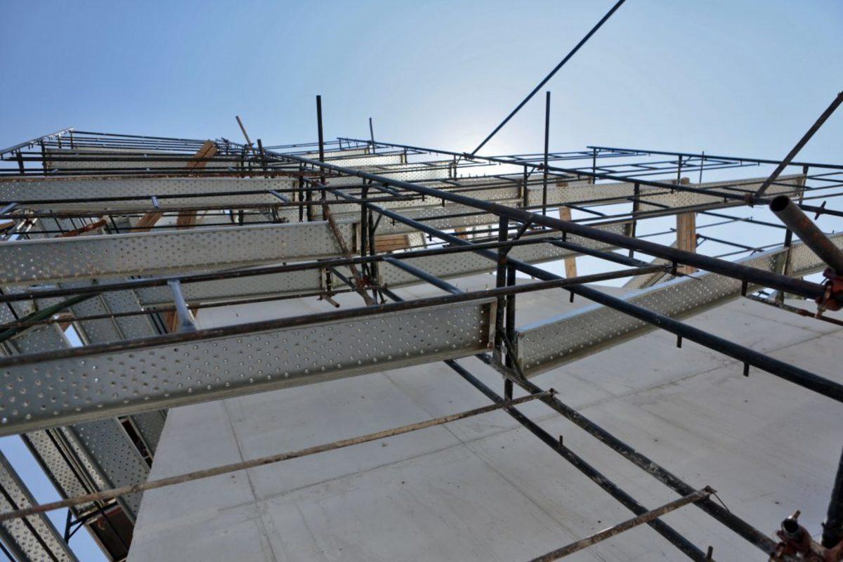 Ηράκλειο: Εργάτες έπεσαν από σκαλωσιά σε οικοδομή!