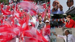 """Εκλογές – Τουρκία: Ξεκίνησε η αντίστροφη μέτρηση! Κορυφώνεται η αγωνία – Στο """"κόκκινο"""" το πολιτικό θερμόμετρο"""