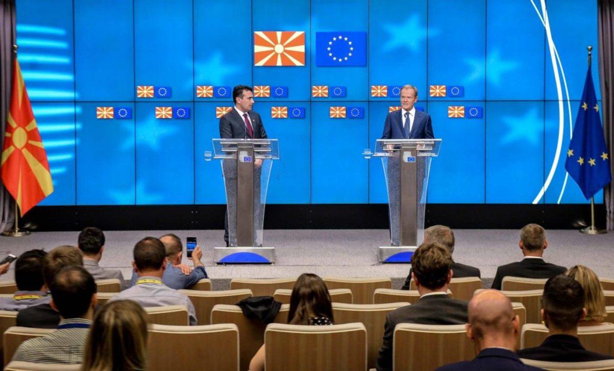 Ζάεφ: Πλήρης και διεθνώς αναγνωρισμένη Μακεδονική εθνική ταυτότητα – Τουσκ:  Ευχαριστούμε τις Αρχές της Μακεδονίας [vid]