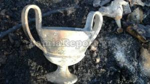 Φθιώτιδα: Η φωτιά αποκάλυψε έναν αρχαίο θησαυρό! [pics]