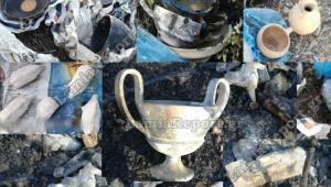 Φθιώτιδα: Μια σύλληψη για τον αρχαίο θησαυρό που αποκαλύφθηκε μετά από πυρκαγιά [pics]