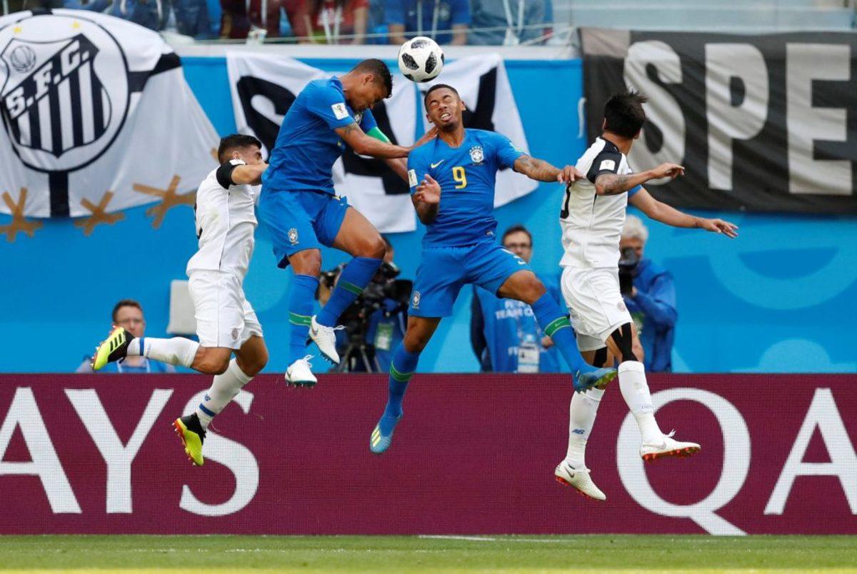 Παγκόσμιο Κύπελλο Ποδοσφαίρου 2018: Βραζιλία – Κόστα Ρίκα 2-0 ΤΕΛΙΚΟ