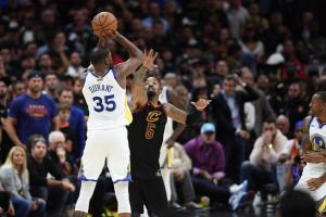 "NBA: Ασύλληπτος Ντουράντ! ""Γάζωσε"" χωρίς έλεος τους Καβαλίερς [pics, vid]"