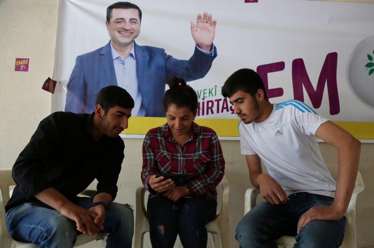 Σελαχατίν Ντεμιρτάς εκλογές στην Τουρκία