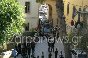 Χανιά: Κατάρες και βρισιές στους κατηγορούμενους για τη δολοφονία Δουρουντάκη – Στον ανακριτή τα αδέλφια [vid]