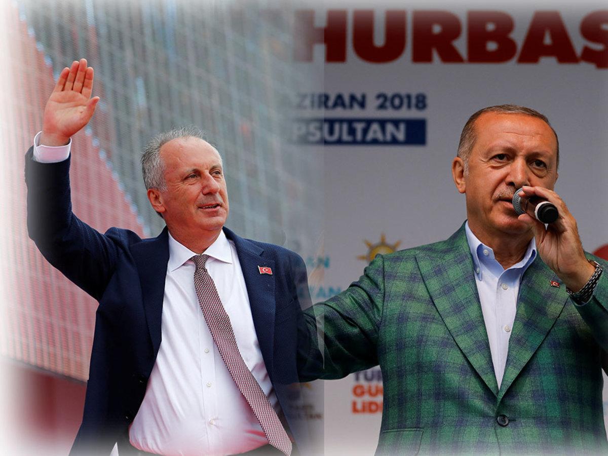 Ερντογάν Τουρκία εκλογές Ιντζέ