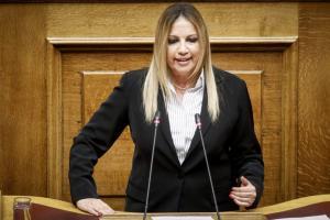 """Γεννηματά: """"Όχι"""" στην συμφωνία για την ΠΓΔΜ! Η ΝΔ έχει ιστορική ευθύνη για την δημιουργία του προβλήματος"""