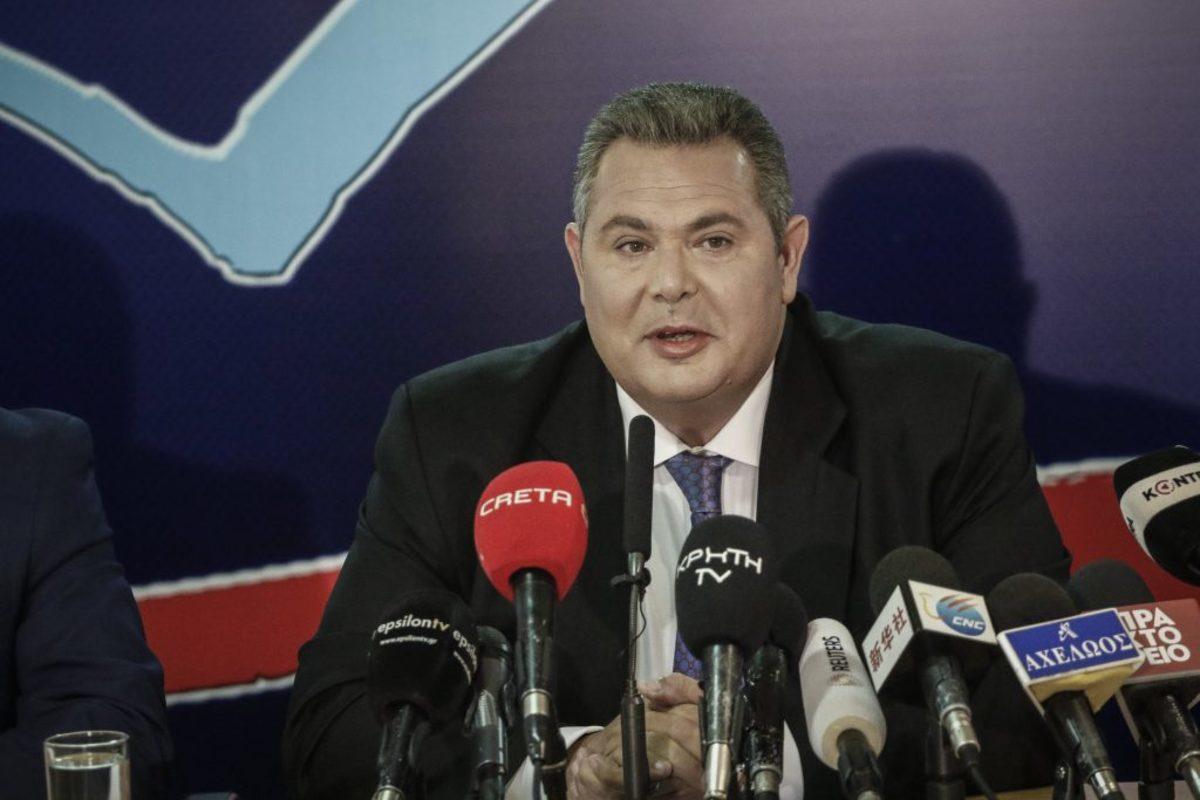Καμμένος: Η κρίσιμη συνέντευξη του Προέδρου των ΑΝΕΛ
