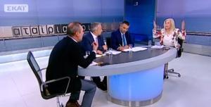"""""""Σκοτωμός"""" Αυλωνίτου – Κατσανιώτη on air: """"Τα σκ@τωσατε!"""""""