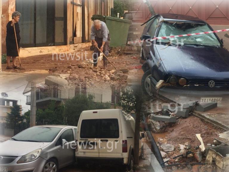 Μάνδρα: Εικόνες καταστροφής – Ανοχύρωτη πόλη – Τα έργα έμειναν… υποσχέσεις