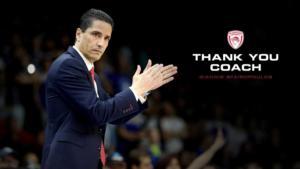 """Ολυμπιακός: Αντίο των Αγγελόπουλων στον Σφαιρόπουλο! """"Ζήσαμε μαγικές στιγμές"""""""
