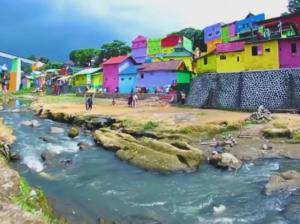 Το πολύχρωμο χωριό της Ινδονησίας