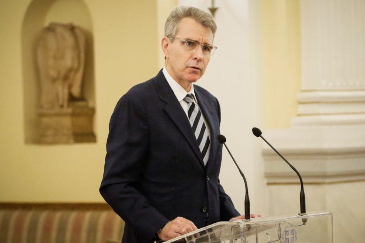 Τζέφρι Πάιατ: Ενισχύονται κι άλλο οι σχέσεις Ελλάδας – ΗΠΑ