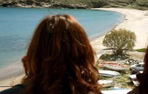 Τελευταίο μπάνιο για τουρίστρια στην Κρήτη