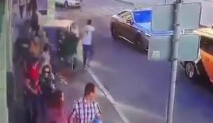 """Μόσχα: Εξιτήριο για 3 από τους 7 τραυματίες που πήρε """"σβάρνα"""" το ταξί [vid]"""