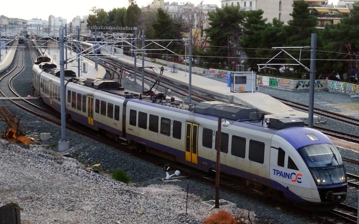 τρένα στάση εργασίας απεργία Προαστιακός δρομολόγια