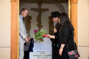 Πρίγκιπας Γουίλιαμ: Προσκήνυσε τον τάφο της προγιαγιάς του Πριγκίπισσας Αλίκης της Ελλάδας