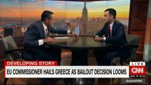 Αλέξης Χαρίτσης: Συνέντευξη στο CNN, Eurogroup και χρέος! [vid]