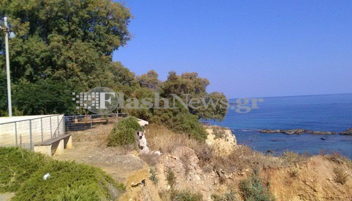 Χανιά: Σοκάρει η αυτοκτονία νεαρού σε παραλία – Βούτηξε στο κενό και σκοτώθηκε ακαριαία [pics]
