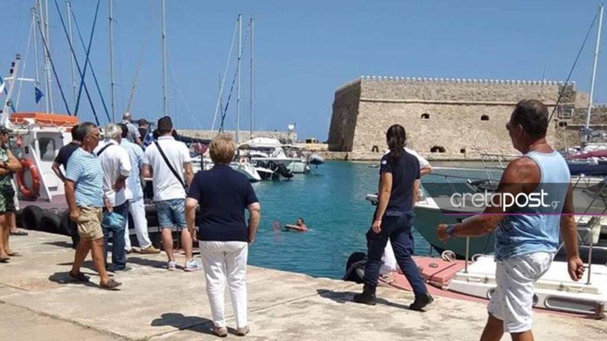 Κρήτη: Λιμενικός εκτός υπηρεσίας έσωσε 13χρονο αγόρι από τη θάλασσα