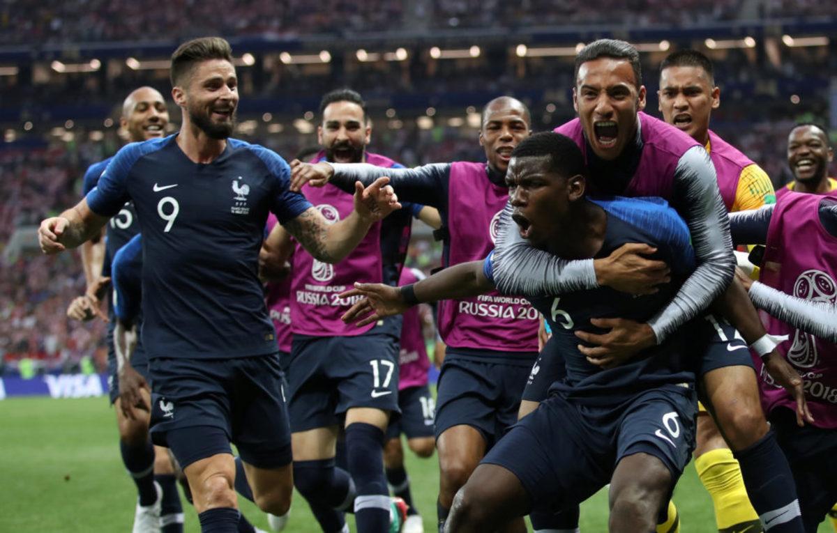 """Επέστρεψε στην κορυφή! """"Παγκόσμια"""" η Γαλλία - Στους """"τρικολόρ"""" το Μουντιάλ 2018 - """"Παραδόθηκε"""" η Κροατία"""