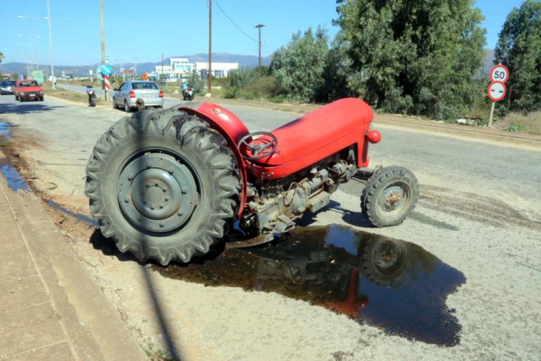 Πρέβεζα: Νεκρός αγρότης σε τροχαίο δυστύχημα – Αυτοκίνητο χτύπησε το τρακτέρ του!