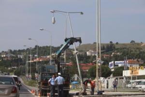 Συνεχίζονται τα προβλήματα στην ηλεκτροδότηση της ανατολικής Θεσσαλονίκης