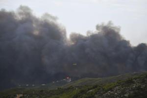 """Έβρος: Κατακαίει τα πάντα η φωτιά στη Λευκίμη – """"Δεν έχουμε ακριβή εικόνα της έκτασης του μετώπου""""!"""