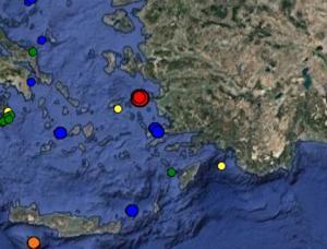 Σεισμός στη Σάμο – 4,5 Ρίχτερ χτύπησαν τον Μαραθόκαμπο – Σείεται η γη από το πρωί [pics]