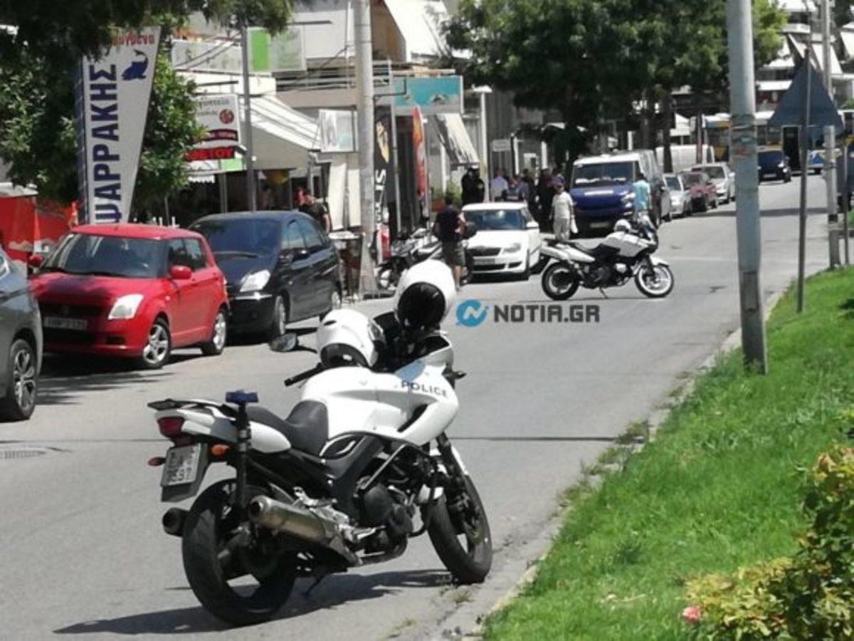 Σκηνές από αστυνομική ταινία στον Άλιμο – Πυροβολισμοί και περιπετειώδης διαφυγή του επίδοξου ληστή – video