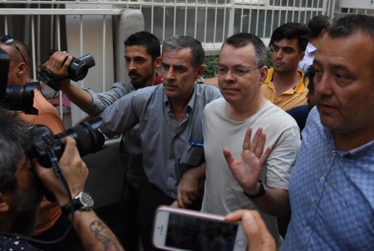 Τουρκία: Την απελευθέρωση το πάστορα Μπράνσον ζητά εισαγγελέας