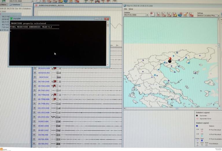 Σεισμός στην Αθήνα – Ιδιαίτερα αισθητός στα βόρεια προάστια