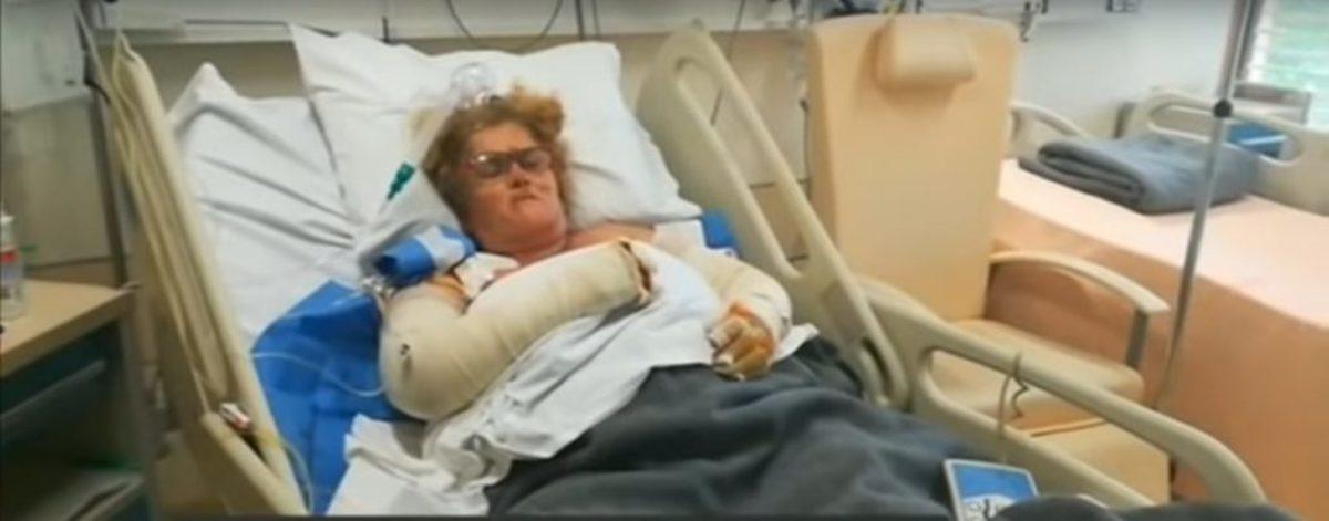"""Δραματική μαρτυρία από το κρεβάτι του νοσοκομείου: """"Αυτά που έζησα στην πυρκαγιά ούτε στον εχθρό μου"""" – video"""