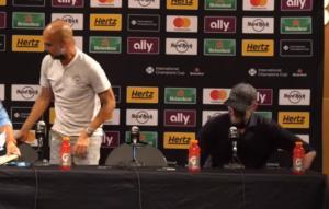 """Αμηχανία! Ο Κλοπ """"έδιωξε"""" τον Γκουαρντιόλα απ'τη συνέντευξη Τύπου! Video"""