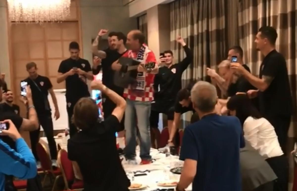 Μουντιάλ 2018: Έκαναν… χαμούλη στο ξενοδοχείο οι Κροάτες με γνωστό τραγουδιστή – video